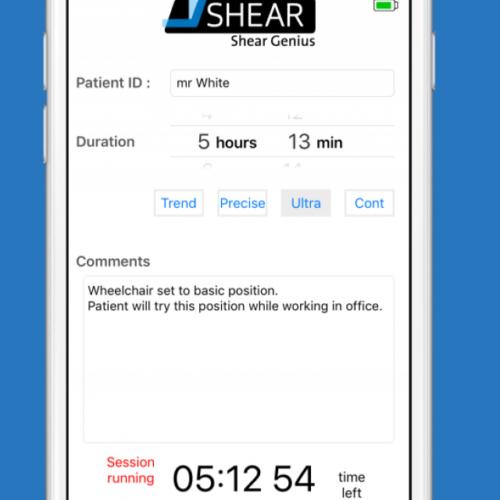 iShear app sceenshot 2