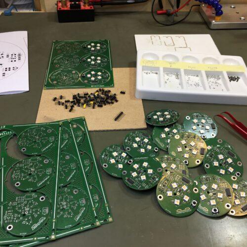 Elektronica productie